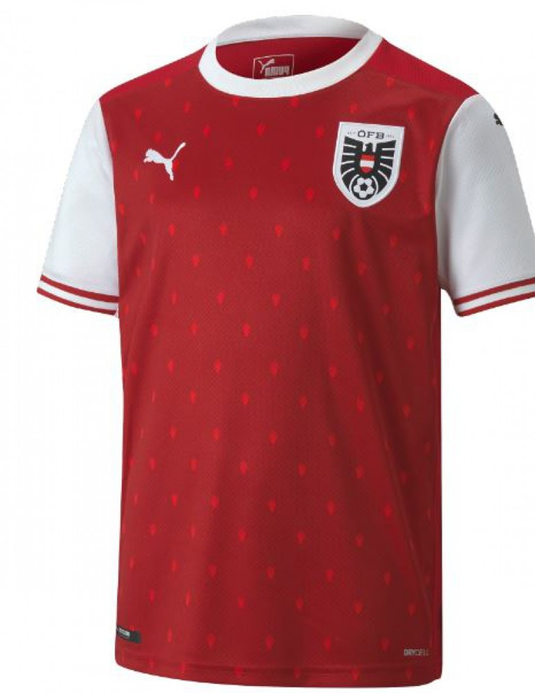 PUMA ÖFB Home Shirt Replica - Kinder
