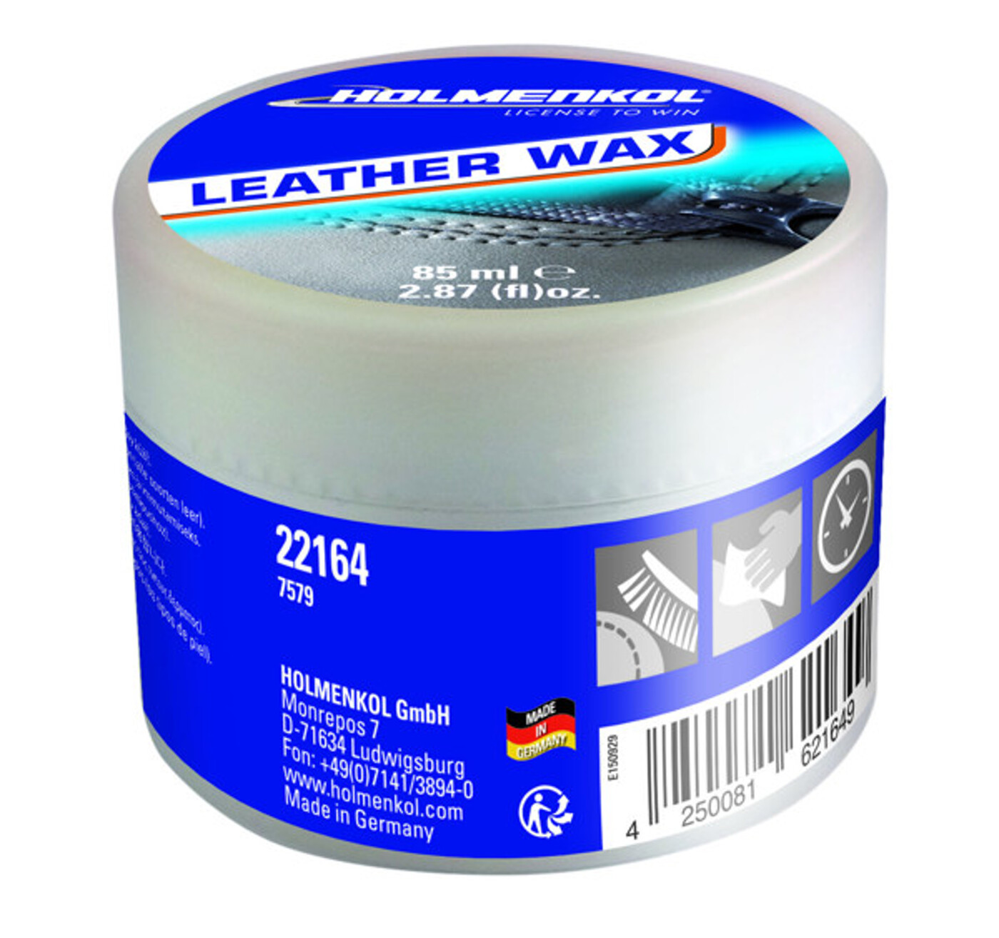 HOLMENKOL Leather Wax