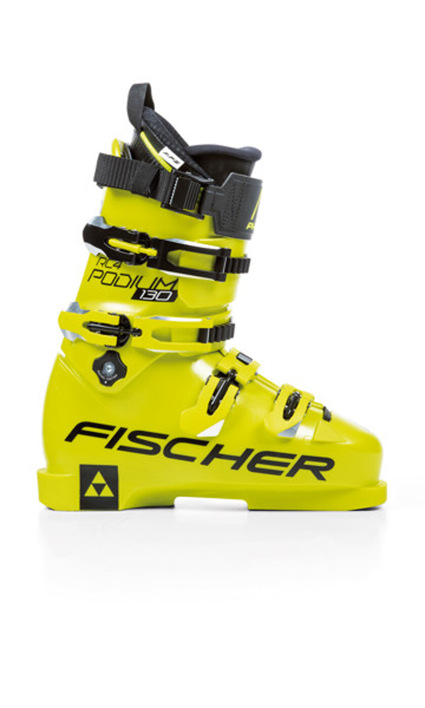 FISCHER RC 4 PODIUM 130 YELLOW/YELLOW - Herren